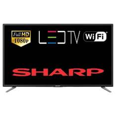 "Refurbished Sharp Aquos LC-43CFE6131K 43"" Smart LED TV Full HD 1080p Freeview HD Wi-Fi HDMI £199 @ Tesco / Ebay"