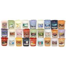 Yankee Candle - 15x Votive Samplers From Our Range Of Yankee Candle Scents, Amazon, free delivery £15.99 @ House Of Harris