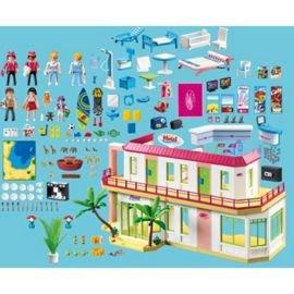 Tesco - Playmobil 5265 Summer Fun Large Furnished Hotel £74.09