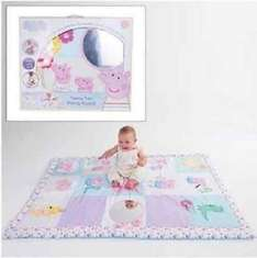 Peppa Pig Tummy Time Activity Playmat £15 @ Tesco RRP £34.99