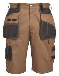 HOLSTER POCKET WORK SHORTS, at B&Q was £17 now £8.00