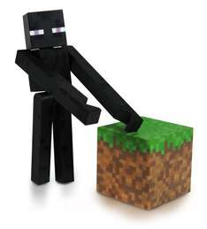 Minecraft 3-inch Enderman Action Figure on Amazon (Add-on item) £2.40