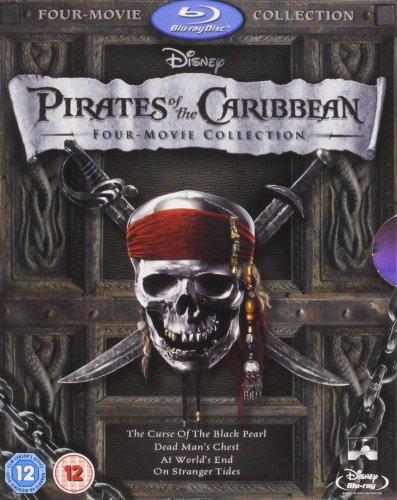 Pirates of the Caribbean 1-4 Box Set [Blu-ray] £9.99 (Prime) Amazon