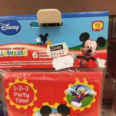 Mickey Mouse party invitations 74p @ Clinton Cards Southend High Street