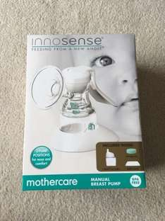 Innosense® Manual Breast Pump £7.49 INSTORE @ Mothercare (or £11.44 delivered,  free delivery with £50 spend)