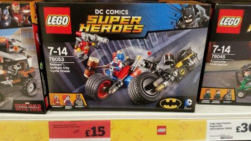 Lego Batman Gotham City Cycle Chase 76053 £15 @ Sainsbury's - Glasgow - Darnley