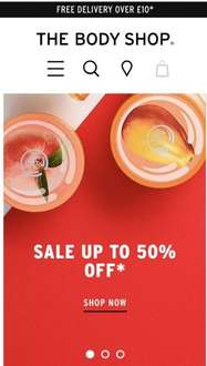 More discount on body shop sale items @ The Body Shop