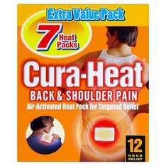 Cura Heat Back & Shoulder Pain 7 patches for £3.49 was £6.99 Lloyds Pharmacy online and instore