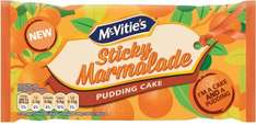 McVitie's Sticky Marmalade Pudding Cake was £1.00 now 50p @ Ocado