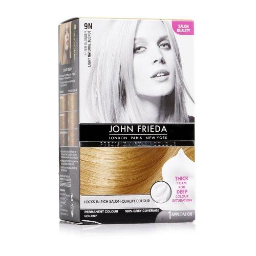 John frieda hair colour foam £5.00 @ Wilko