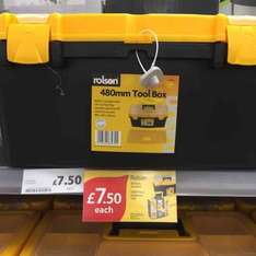 480mm Rolson Toolbox £7.50 at Tesco (Lincoln)