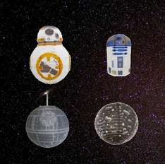 Star Wars R2D2 / BB-8 / X-Wing vs Tie / Death Star - Paper light shades - £5.09 Delivered using code @ Internet Gift Store