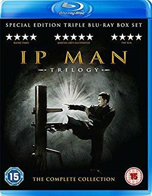 IP Man 1,2 & 3 Box Set [Blu-ray] £9.99 @ Amazon
