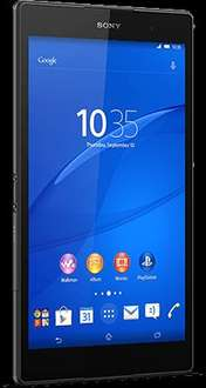 Sony Xperia Z3 waterproof tablet Compact Grade A Refurb Wifi + 3G/4G 16GB £170 @ O2
