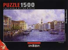 Market Day In Venice Jigsaw Puzzle 1500 pieces Amazon add-on item £2.96