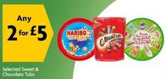 Haribo Share The Fun  720g, Swizzles Super Stars Variety Mix  630g,   2 for £5 @ Morrisons