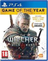 The Witcher 3 Wild Hunt - Game of the Year Edition (PS4) (NEW) £24.99 @ Grainger Games/ Used £21.99