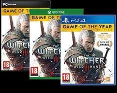 The Witcher 3 Wild Hunt - Game of the Year Edition (PS4) (ONE) (NEW) £24.95 @ TheGameCollection
