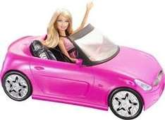 Barbie convertible and Barbie playset £9.50 @ Tesco instore