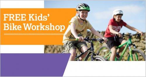 FREE Kids Bike Workshops over Half Term @ Halfords