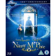 Nanny McPhee Blu-Ray (Augmented Reality Edition) new/sealed, free P&P £1.99 @ thegamebooth/eBay