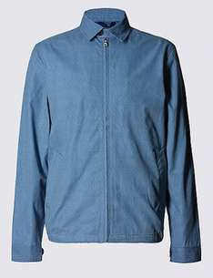 Marks and Spencer Pure Cotton Printed Harrington Bomber Jacket £17.99