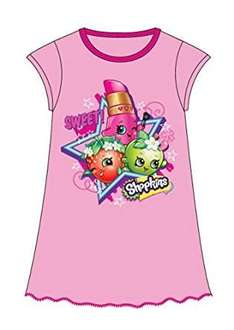 Shopkins Nightgowns Size 2-3 £2.99 Amazon  (add on item / £20 spend)