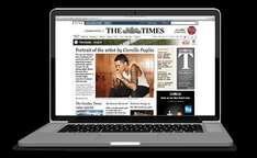 The Times Newspaper Student Subscription only £20 for the year save £290