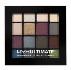 NYX PROFESSIONAL MAKEUP Ultimate shadow palette-Smokey £16.00 @ boots.com