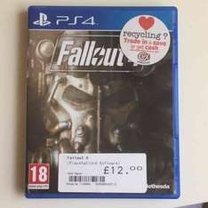 Fallout 4 & FarCry4 - Like New - £12 (Instore) £14.50 Delivered @ CEX