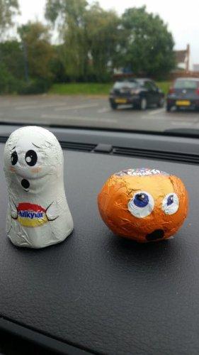 smarties pumpkins & milky bar ghosts 5 for £1 b&m