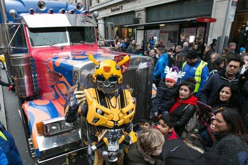 Hamleys toy parade 2016 - Date Announced Sunday 20th November 2016 (FREE)