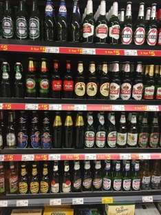 Great beer selection at Asda 3 for £5 (660ml)
