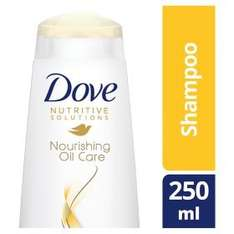Dove Hair Therapy Nutritive Solutions Nourishing Oil Care Shampoo (250ml) was £2.69 now Rolled back to £1.50 @ Asda