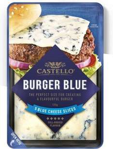 Castello Burger Blue Cheese Slices (5 = 125g) was £2.00 now £1.33 @ Waitrose