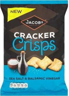 Jacob's Cracker Crisps Sour Cream & Chive (150g) was £2.00 now £1.00 @ Sainsbury's & Morrisons