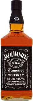 Jack Daniel's Old No. 7 Sour Mash Tennessee Whiskey (1L) (40% ABV) was £30.00 now £20.00 @ Sainsbury's