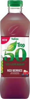Tropicana Trop50 Smooth Orange Juice Drink 1L Offer price £1, was £2.48 @ Morrisons & Asda