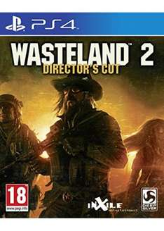 Wasteland 2: Directors Cut (PS4) RRP: £34.99. You Save: £17.70 now £17.29 @ Base.com ( includes FREE UK Postage (other delivery options available)