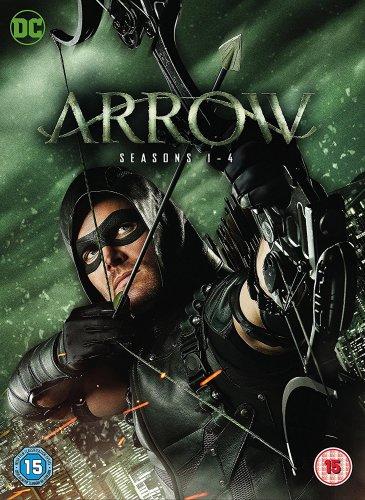 Arrow: Seasons 1-4 DVD £29.99 / Blu-Ray £39.99 @ HMV