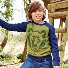 cherokee boys bear sweater 5-12 years was £10 now £5 at argos