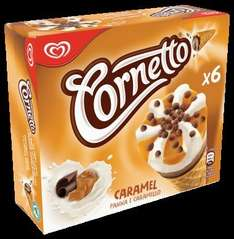 Cornetto Caramel  Pack of 6 Only £1 @ Heron Foods