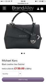 Michael kors handbag £130 brandalley