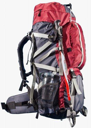 Ultrasport Outdoor Backpack Incl. Rain Cover, 65+10 Litre £31 amazon.de