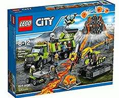 LEGO 60124 City In/Out Volcano Exploration Base Construction Set, £49.97 at Amazon delivered