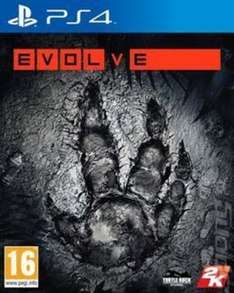 Evolve PS4 (used) £5.69 @ Musicmagpie.