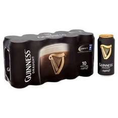 Guinness draught - 3x 10 pack £20 at ASDA