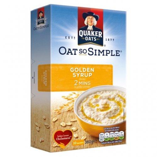 Quaker OatSoSimple Porridge 10 sachet of 36gms on offer down from £2.45 to £1- Morrisons
