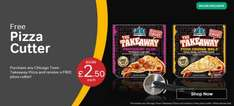 Free Pizza Cutter with Chicago Town Takeaway Pizza (£2.50) Iceland - While Stocks Last