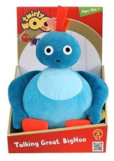 Twirlywoos Talking Great Big Hoo Soft Toy £8.54 at Amazon (Prime Exclusive) & Tesco Direct Free C&C